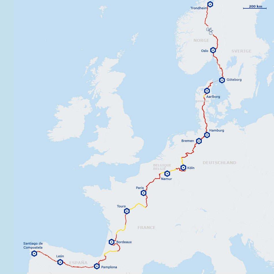 Ruta 3 Eurovelo