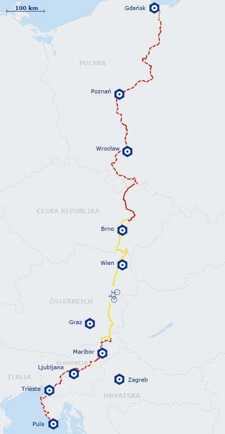 Ruta 9 Eurovelo