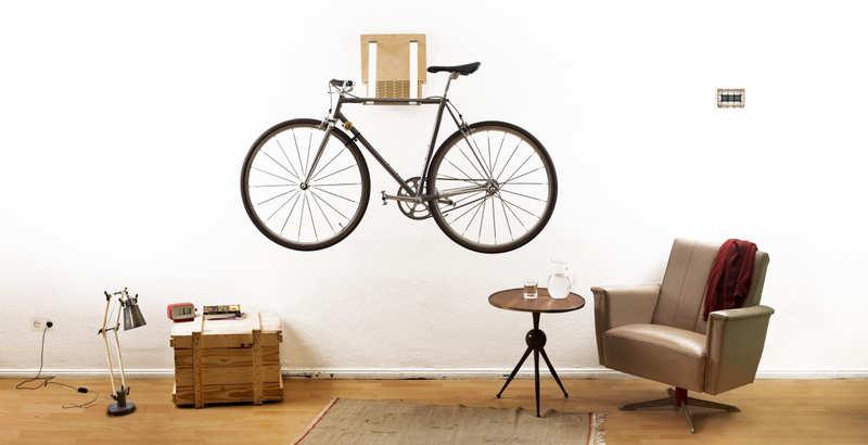 regalos para ciclistas colgador