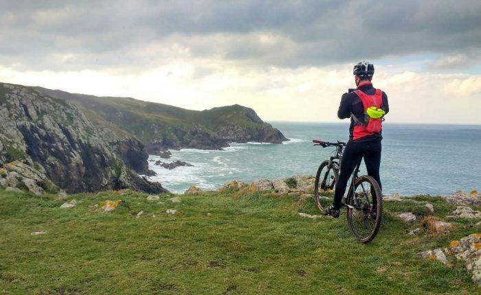 Camiño dos Faros en bici