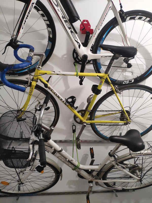 como colgar las bicicletas en casa kolotrip